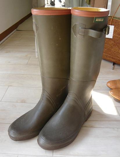 AIGLE エーグル Rubber boots ラバーブーツ