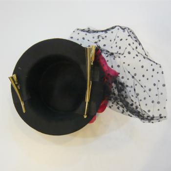 USED/ユーズド ミニシルクハットアクセサリー Mini Top Hat