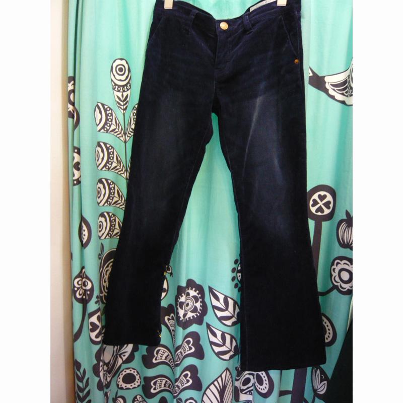 ブーツカット(フレア)パンツをスキニーに flare leg pants into skinny leg pants