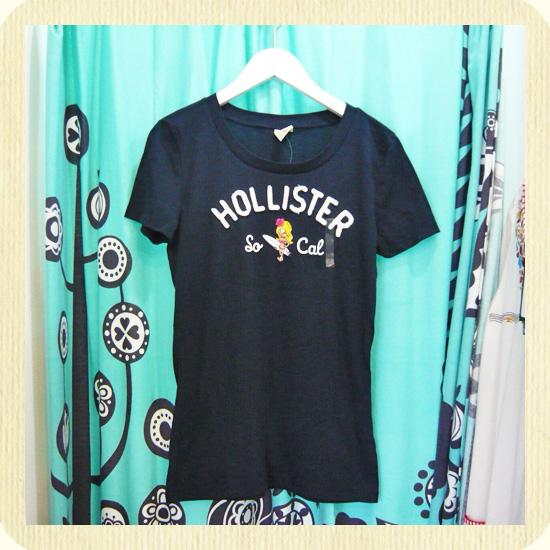 インポート商品: Hollister ホリスター サーフTシャツ ブラック Mサイズ