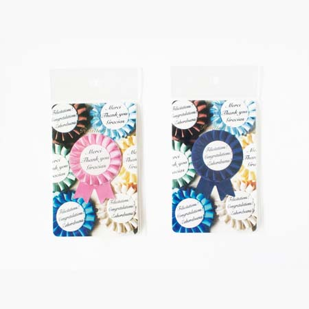 NEW ★ 新品:ロゼット付箋(ふせん) Rosette-it. Have you ever seen honorable sticky notes?