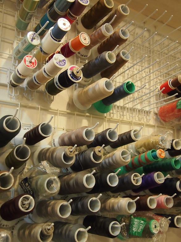 糸の収納方法 Organizing a bunch of sewing threads